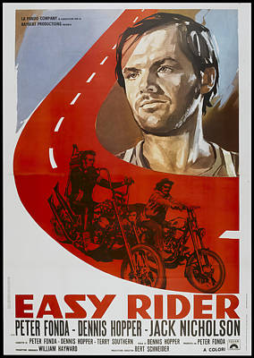 Royalty-Free and Rights-Managed Images - Easy Rider, with Peter Fonda, 1969 by Stars on Art
