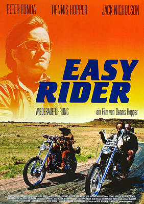 Royalty-Free and Rights-Managed Images - Easy Rider, with Peter Fonda and Dennis Hopper, 1969 by Stars on Art