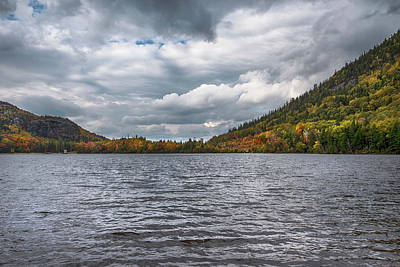 Fruits And Vegetables Still Life - Echo Lake in Fall - Franconia Notch by Joann Vitali