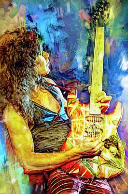 Thomas Kinkade - Eddie Van Halen Plays Live by Mal Bray