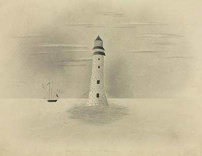 Railroad - Eddystone Lighthouse  by Artistic Panda