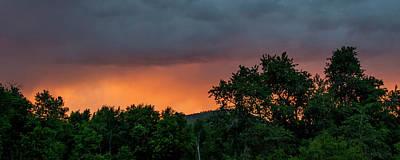 Photograph - Eden Sunset by K Bradley Washburn