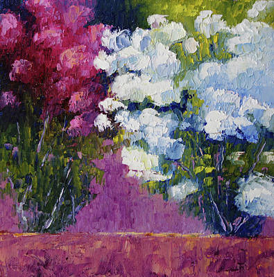 Painting - Edwards Roses by Terry Chacon