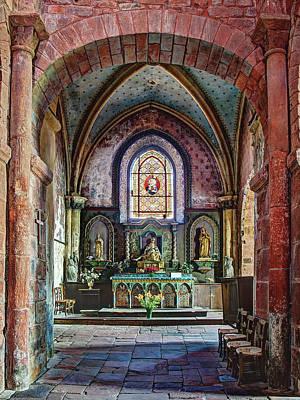 State Love Nancy Ingersoll - Eglise Saint-Pierre - Collonges-la-Rouge by Barry O Carroll