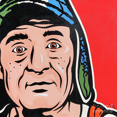 Painting - El Chavo Del Ocho by James Lee