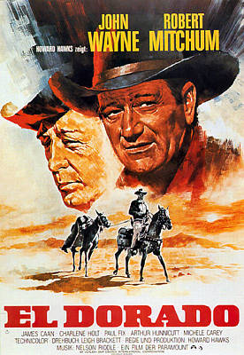 Royalty-Free and Rights-Managed Images - El Dorado, with John Wayne, 1967 by Stars on Art