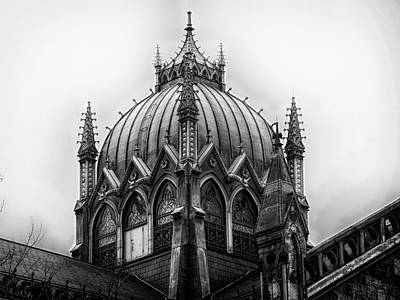Surrealism Royalty-Free and Rights-Managed Images - Elaborate Church Dome in Copley Square Boston Massachusetts by Dr Dapper