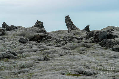 Personalized Name License Plates - Eldhraun Lava Field - Southern Iceland by Ulysse Pixel