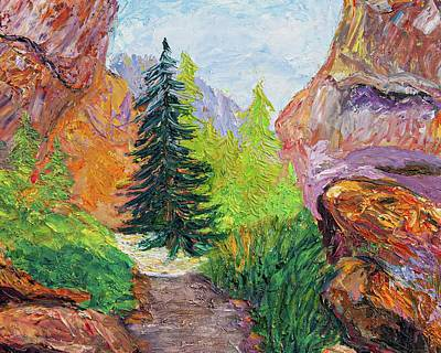 Pop Art Rights Managed Images - Eldorado Canyon Royalty-Free Image by Char Porter