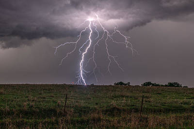 Photograph - Electric Rain by Willard Sharp