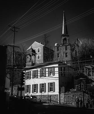 Queen - Ellicott City Skyline from Old Columbia Pike. by Geoffrey Baker