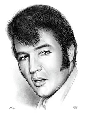 Revolutionary War Art - Elvis 3 by Greg Joens