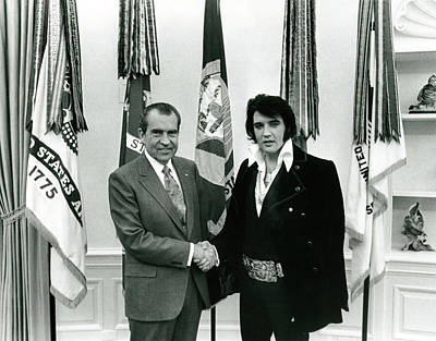 Spot Of Tea - Elvis and Nixon by Unknown
