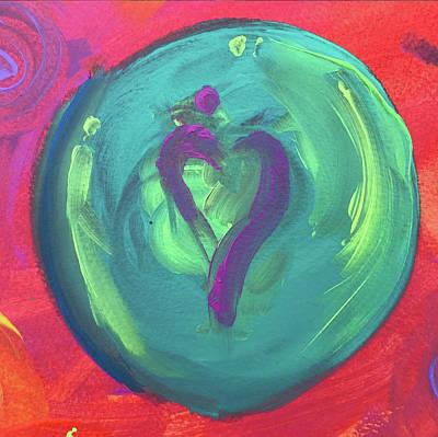 Painting - Embrace The World by Jason Nicholas