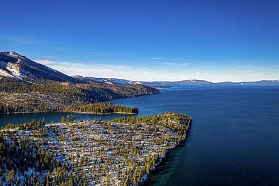 Royalty-Free and Rights-Managed Images - Emerald Bay Entrance by Clinton Ward