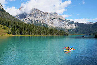 Photograph - Emerald Lake by Michelle Lee