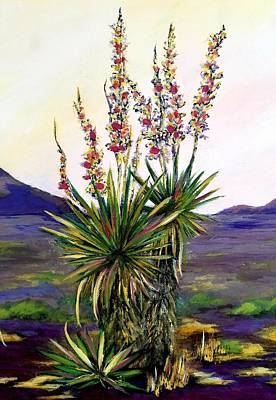 Antlers - Enchanting Yucca by Roseanne Schellenberger