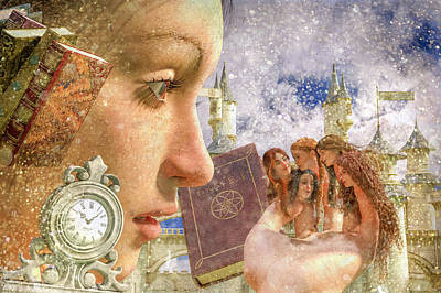 Fantasy Royalty-Free and Rights-Managed Images - Enchantment of Fairy Tales by Betsy Knapp