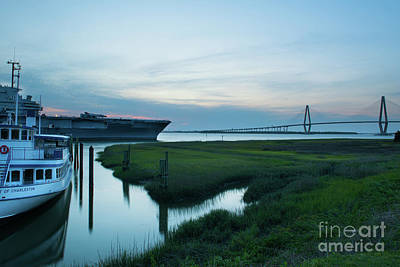 Photograph - End of Another Magical Lowcountry Day by Dale Powell