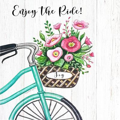 Sean - Enjoy the Ride - Farmhouse by Elizabeth Robinette Tyndall