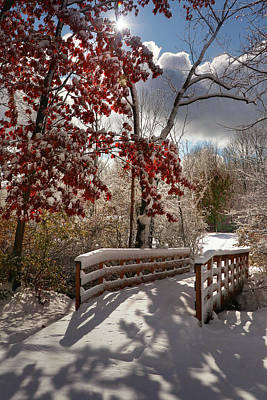 Photograph - Gateway To Winter by Rob Blair