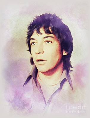 Animals Paintings - Eric Burdon, Music Legend by John Springfield