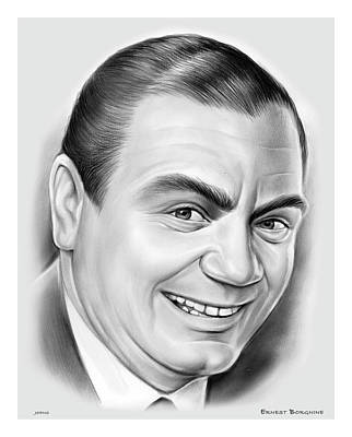 Royalty-Free and Rights-Managed Images - Ernest Borgnine by Greg Joens