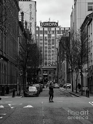Photograph - Europa Hotel, Belfast by Jim Orr