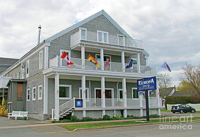 Boho Christmas - Europa Inn and Restaurant Saint Andrews by the Sea NB  5358 by Jack Schultz