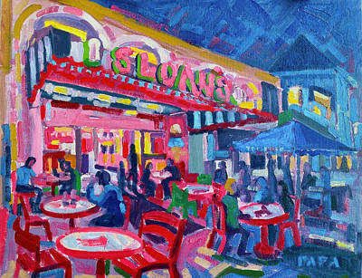 Painting - Evening Treat at Delray by Ralph Papa