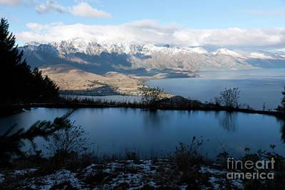 Photograph - Evening view of Lake Wakatipu by John Gaffen