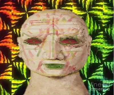 Pop Art - Scars of life by Belinda Threeths