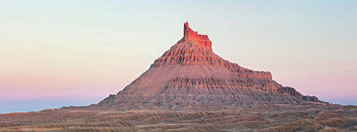 Surrealism Royalty Free Images - Factory Butte Panorama Royalty-Free Image by Johnny Adolphson