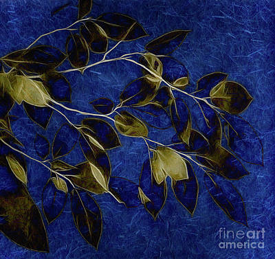 Old Masters - Fading Leaves Afterglow by Ava Reaves