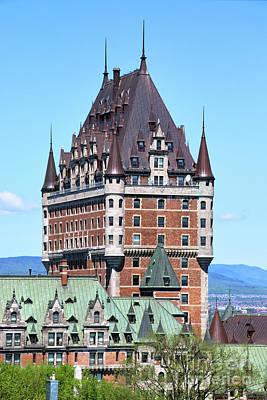 Ethereal - Fairmont Le Chateau Frontenac Quebec City  6508 by Jack Schultz