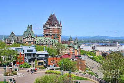 Ethereal - Fairmont Le Chateau Frontenac Quebec City  6510 by Jack Schultz
