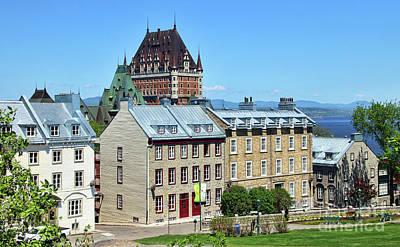 Ethereal - Fairmont Le Chateau Frontenac Quebec City  6516 by Jack Schultz