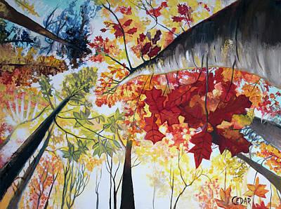Painting - Fall by Cedar Lee