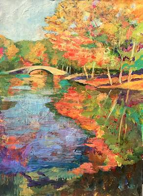 Painting - Fall Finale by Jessel Miller