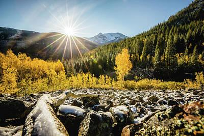 Photograph - Fall Sunrise  by Tamara Susa