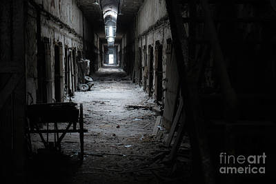 Photograph - Fallen into Darkness by Paul Watkins