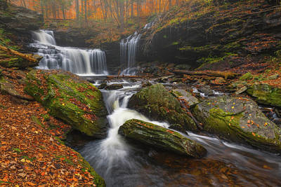 Royalty-Free and Rights-Managed Images - Falling Falls by Darren White