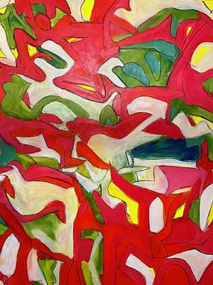 Painting - Falling Forward by Steven Miller