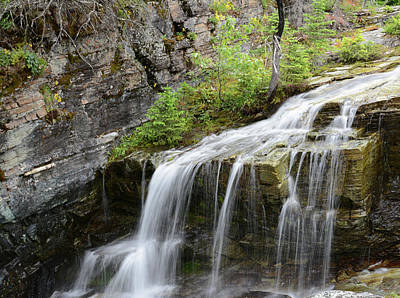 Stocktrek Images - Falls on Baring Creek by Whispering Peaks Photography