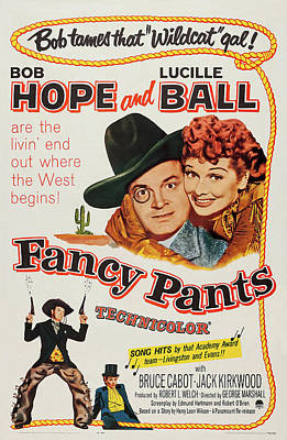 Royalty-Free and Rights-Managed Images - Fancy Pants, with Bob Hope and Lucille Ball, 1950 by Stars on Art