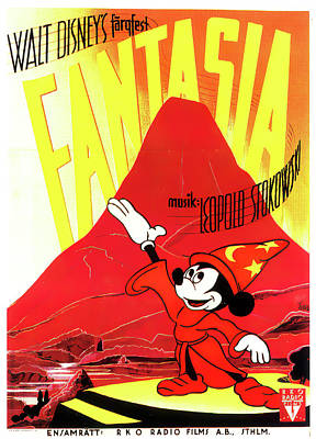 Royalty-Free and Rights-Managed Images - Fantasia, 1940 by Stars on Art