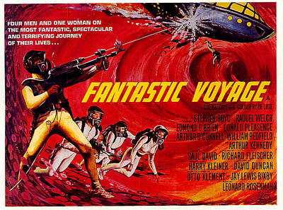 Royalty-Free and Rights-Managed Images - Fantastic Voyage movie poster 1966 by Stars on Art