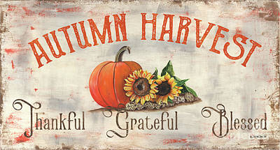 Royalty-Free and Rights-Managed Images - Farm Fresh Pumpkins 3 by Debbie DeWitt