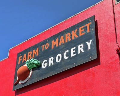 Vintage Buick - Farm To Market Grocery - Austin, T X by Allen Beatty