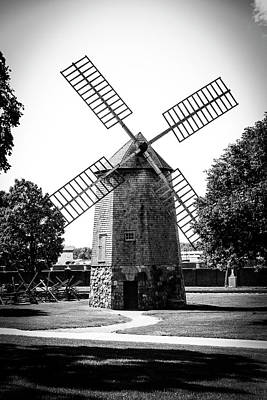 Photograph - Farris Windmill by Michael Osinski